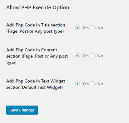 плагин allow php execute